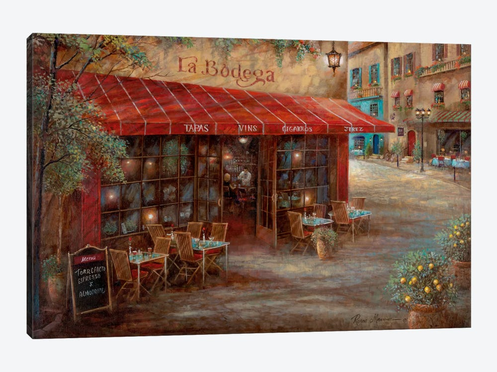 La Bodega by Ruane Manning 1-piece Canvas Art