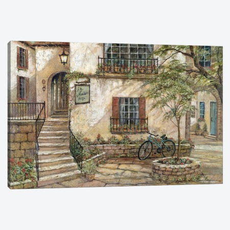 La Maison Du Vin Canvas Print #RUA45} by Ruane Manning Canvas Wall Art