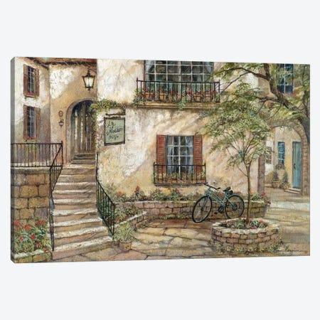 La Maison Du Vin Canvas Print #RUA45} by Ruane Manning Canvas Wall Art