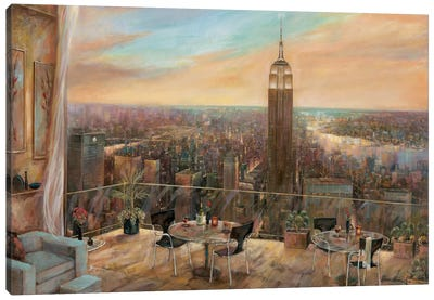 A New York View Canvas Art Print