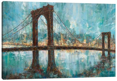 Manhattan Memories Canvas Art Print