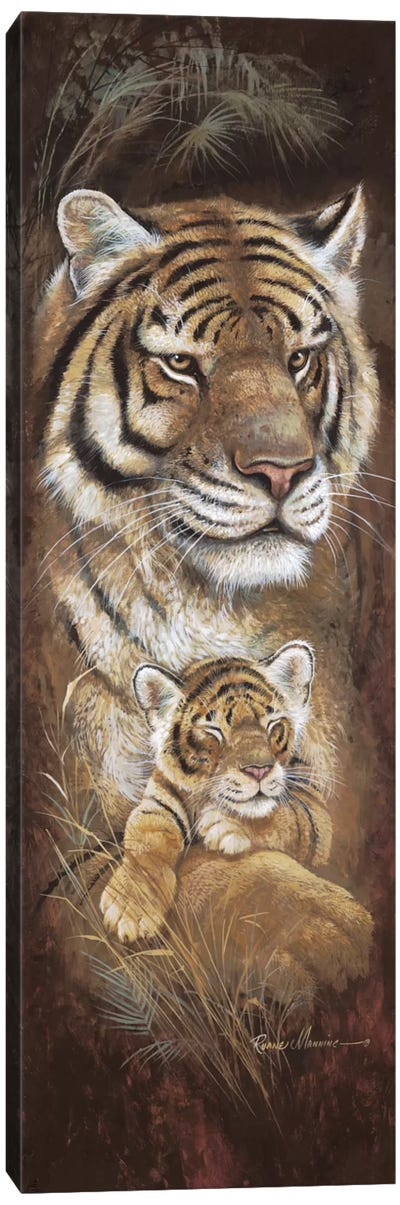 Maternal Instinct Canvas Art Print