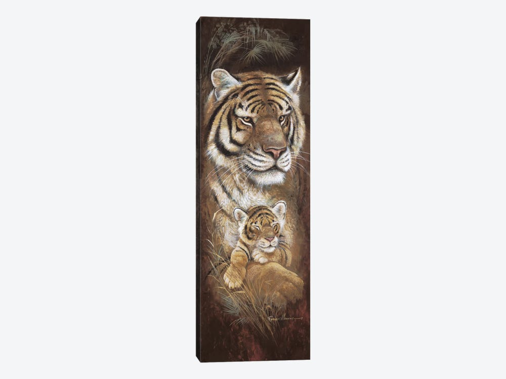 Maternal Instinct by Ruane Manning 1-piece Canvas Wall Art