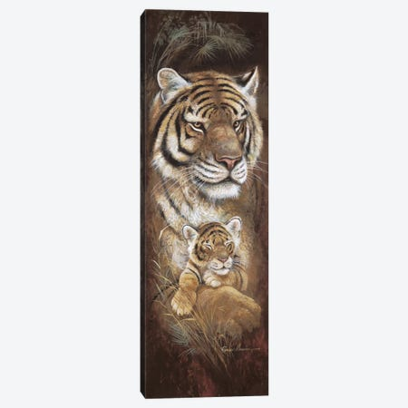 Maternal Instinct Canvas Print #RUA53} by Ruane Manning Canvas Artwork