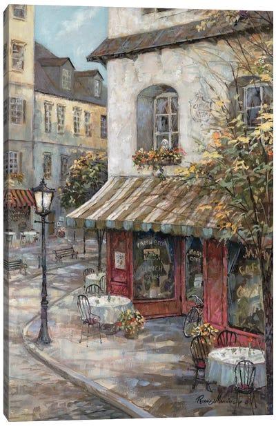My Favorite Café Canvas Art Print