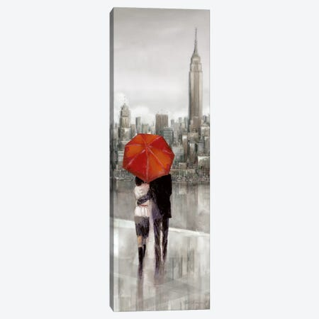 New York Stroll Canvas Print #RUA62} by Ruane Manning Canvas Art Print