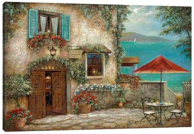 Ombrello Rosso Canvas Art Print