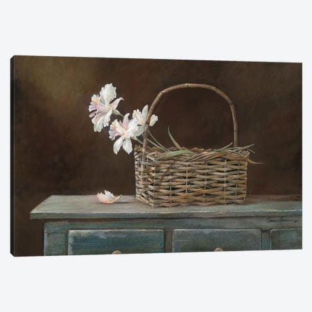 Orchid Basket Canvas Print #RUA64} by Ruane Manning Canvas Art