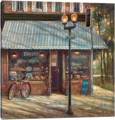 Pastry Shop Canvas Art Print
