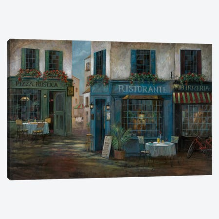Pizza Rustica Canvas Print #RUA67} by Ruane Manning Canvas Artwork