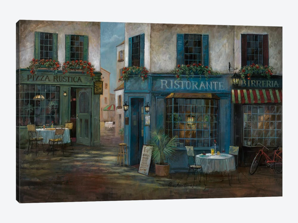 Pizza Rustica by Ruane Manning 1-piece Art Print