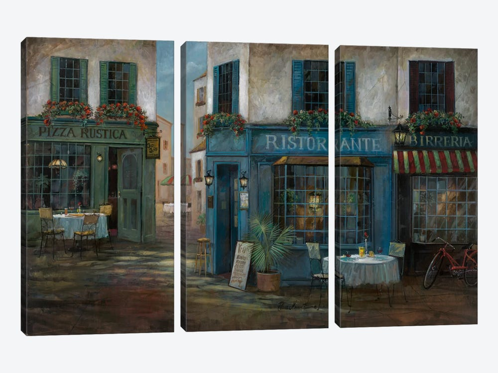 Pizza Rustica by Ruane Manning 3-piece Art Print