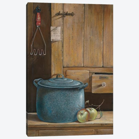 Apple Dumplings Canvas Print #RUA6} by Ruane Manning Canvas Art