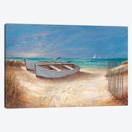 Sands Of Time Canvas Print #RUA75} by Ruane Manning Art Print