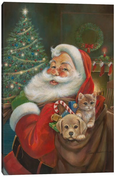 Santa Claus Canvas Art Print