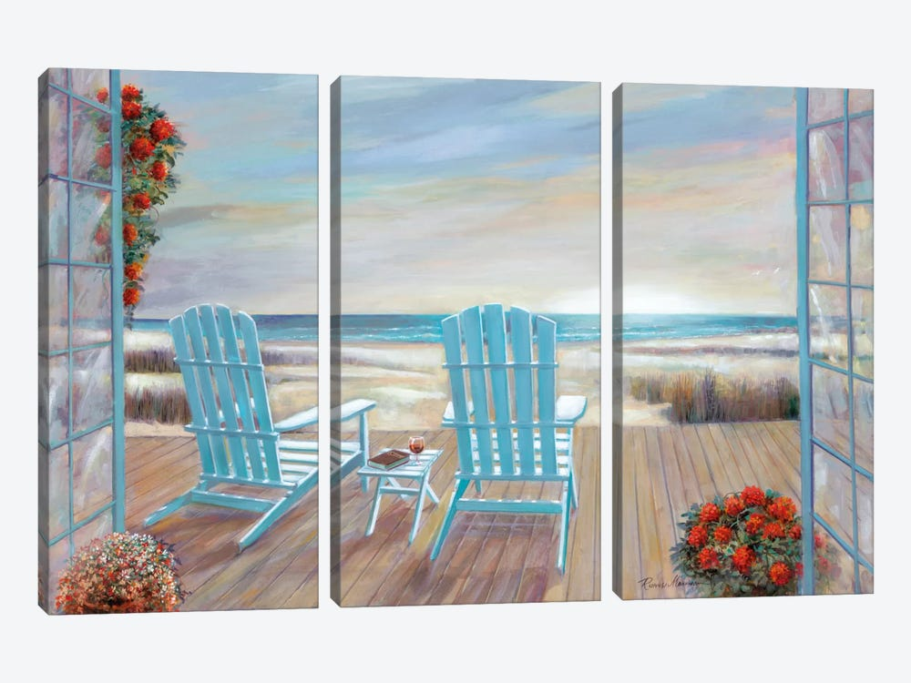 Serendipity by Ruane Manning 3-piece Canvas Print