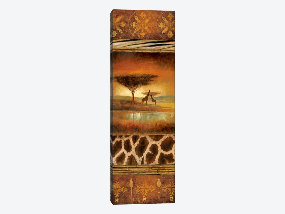 Serengeti Silhouette I by Ruane Manning 1-piece Canvas Artwork