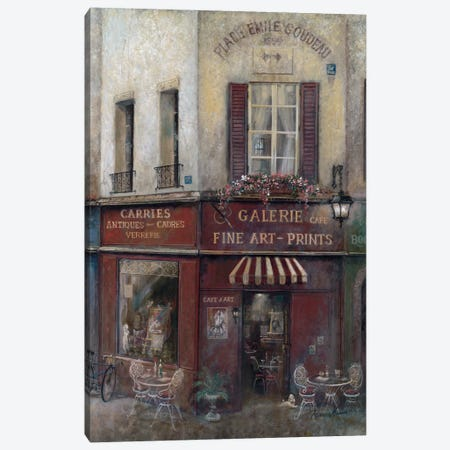Artist's Quarters Canvas Print #RUA7} by Ruane Manning Canvas Artwork