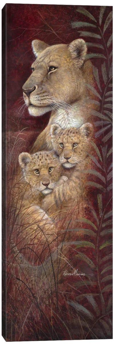 Serengeti Twins Canvas Print #RUA81