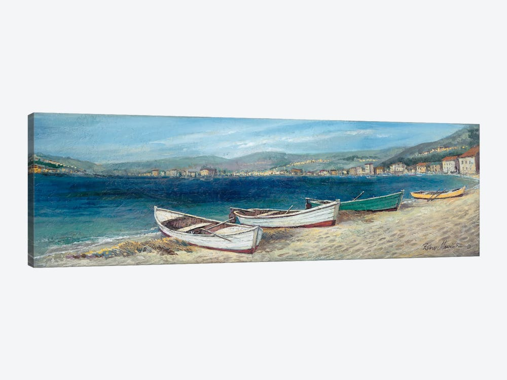Summer Wind by Ruane Manning 1-piece Canvas Wall Art