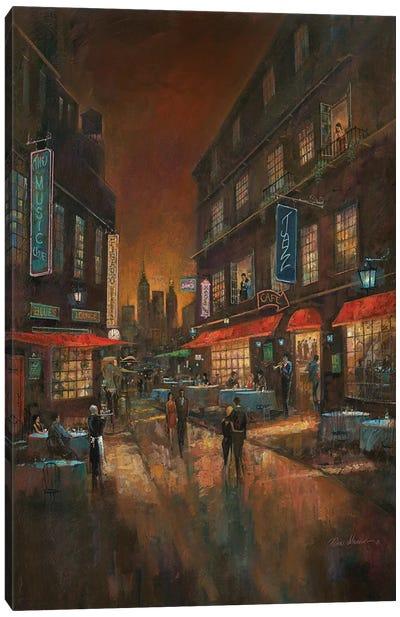 The Music Club Canvas Art Print