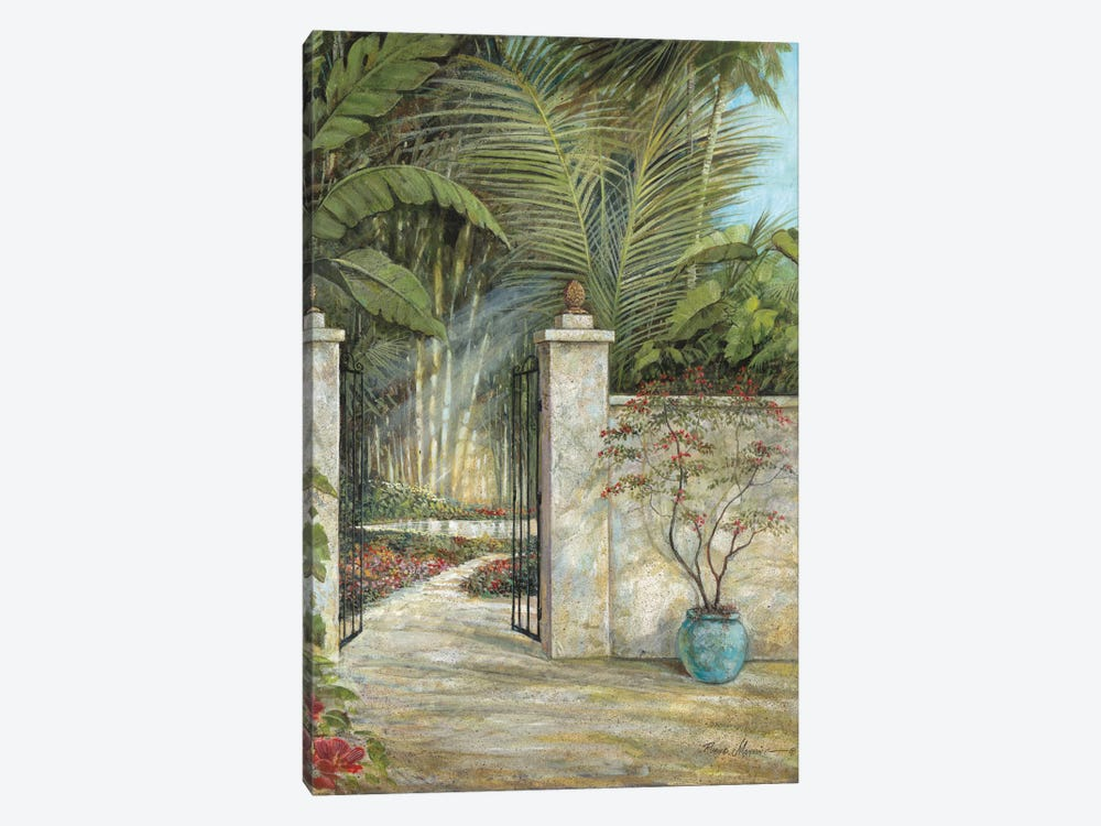 Tranquil Garden I by Ruane Manning 1-piece Canvas Art Print