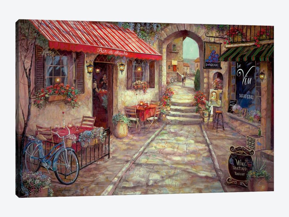 Bar Du Marche by Ruane Manning 1-piece Art Print
