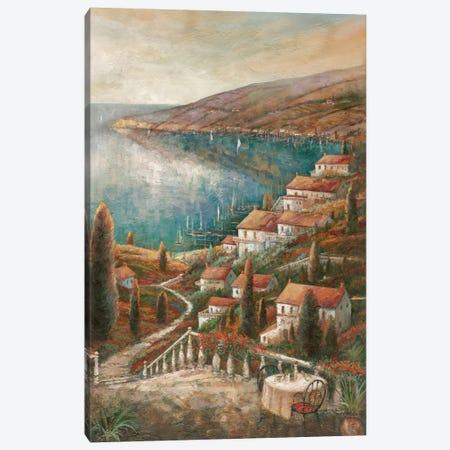 Tranquil Harbor I Canvas Print #RUA90} by Ruane Manning Canvas Wall Art