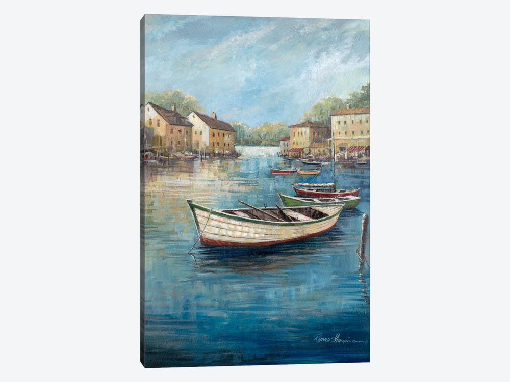 Tranquil Harbor II by Ruane Manning 1-piece Canvas Wall Art