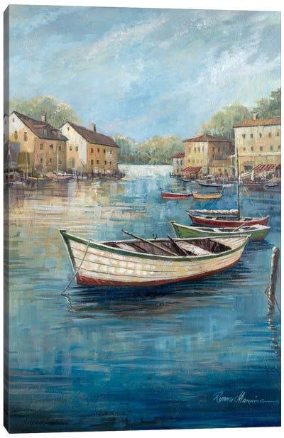 Tranquil Harbor II Canvas Art Print