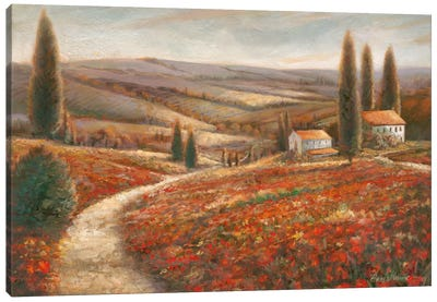 Tuscan Palette Canvas Art Print