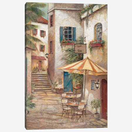 Vino y Tapas Canvas Print #RUA94} by Ruane Manning Canvas Art Print