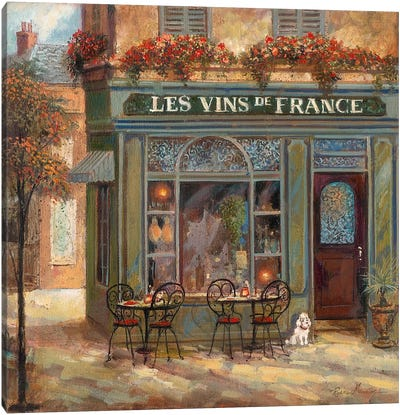 Wine Shop Canvas Art Print