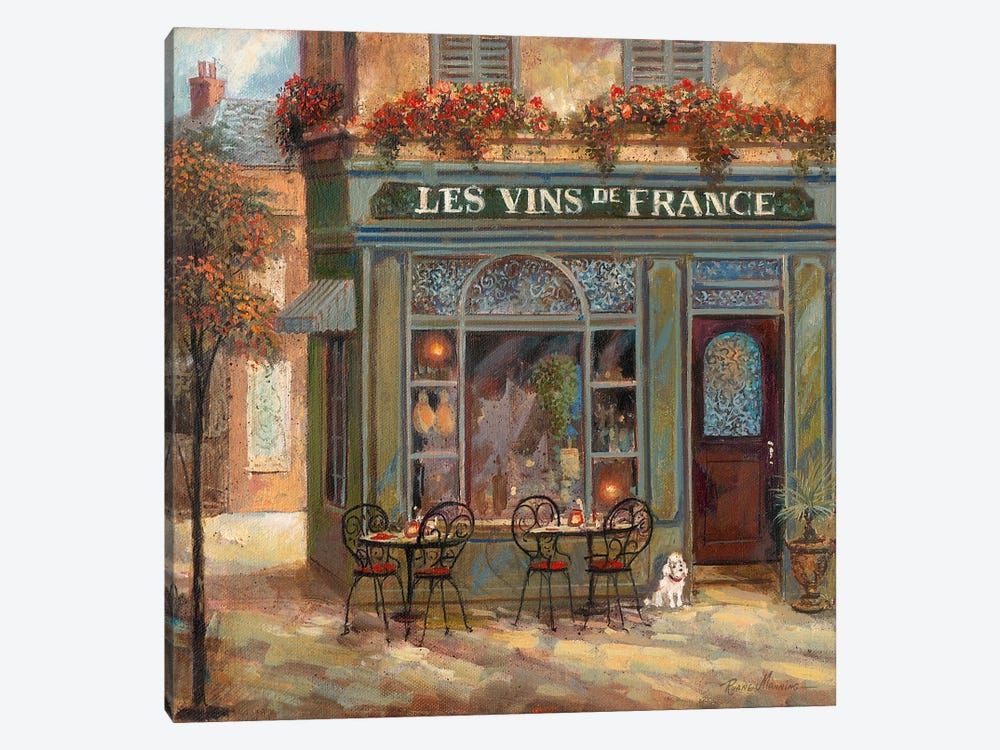 Wine Shop by Ruane Manning 1-piece Canvas Art Print