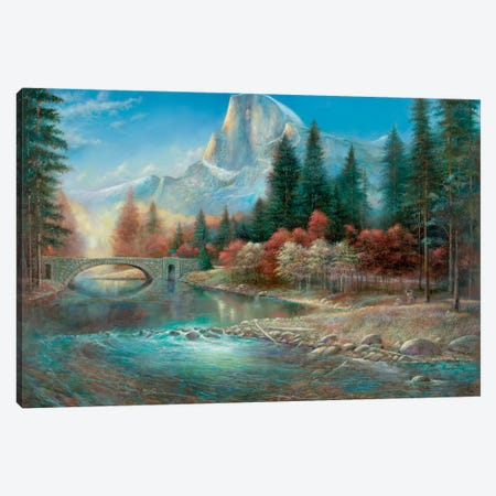 Yosemite Canvas Print #RUA99} by Ruane Manning Canvas Artwork