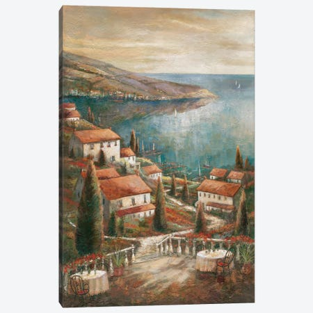 Beauty By The Sea Canvas Print #RUA9} by Ruane Manning Canvas Art Print