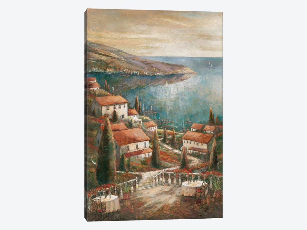 Beauty By The Sea by Ruane Manning 1-piece Canvas Wall Art