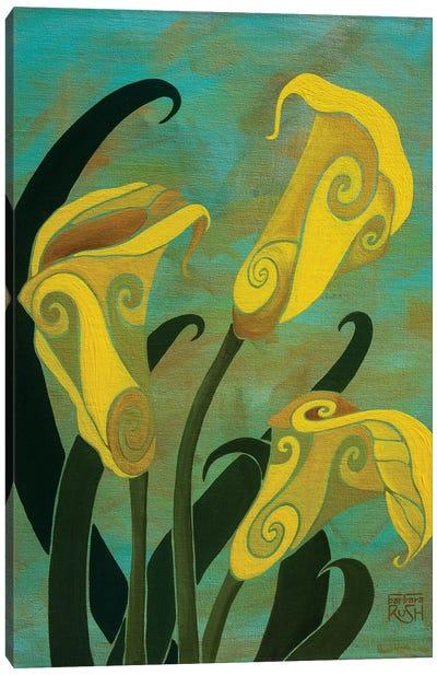 Sophisticated Callas Canvas Art Print