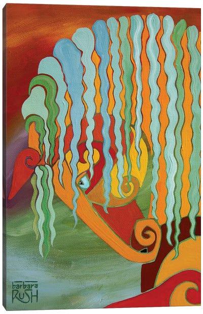 The Intensity Of Equus Canvas Art Print
