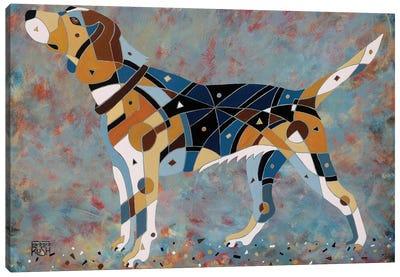 Belle The Beagle Canvas Art Print