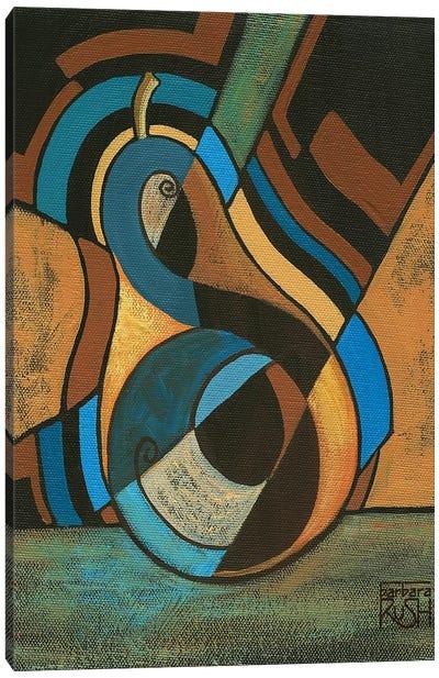 A Pear For Diego (Rivera) Canvas Art Print
