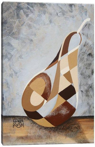 A Brown Pear Canvas Art Print