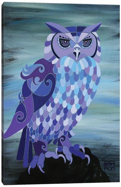 Camelot Owl Canvas Art Print