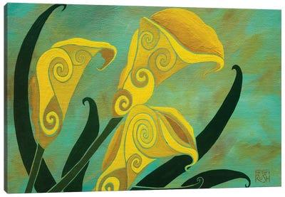 Charming Callas Canvas Art Print
