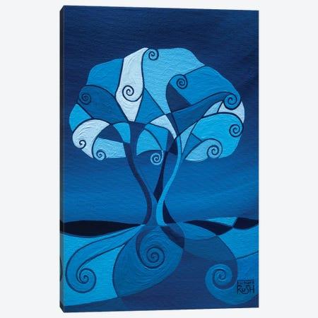 Enveloped In Blue Tree Canvas Print #RUH52} by Barbara Rush Art Print