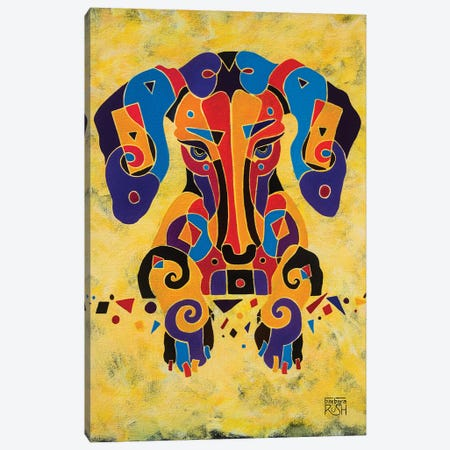 I'm Completely Puzzled Canvas Print #RUH61} by Barbara Rush Canvas Wall Art
