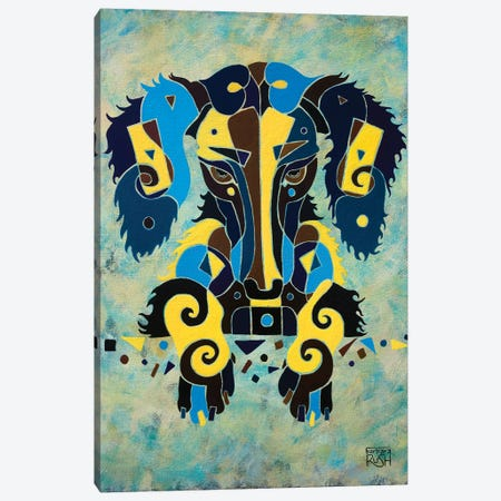 I'm Completely Puzzled Too Canvas Print #RUH62} by Barbara Rush Canvas Wall Art
