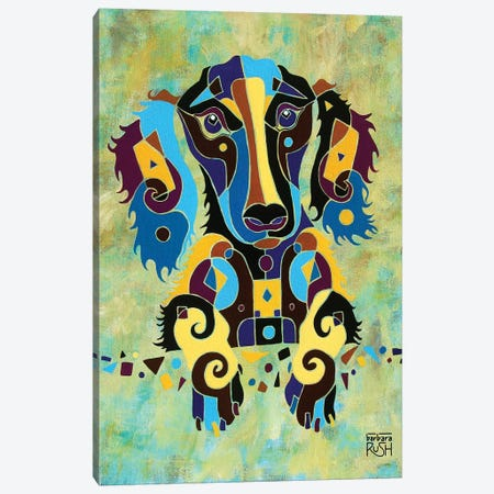 I'm Puzzled Too Canvas Print #RUH63} by Barbara Rush Canvas Wall Art