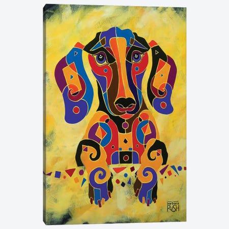 I'm Really Puzzled Canvas Print #RUH64} by Barbara Rush Canvas Art Print