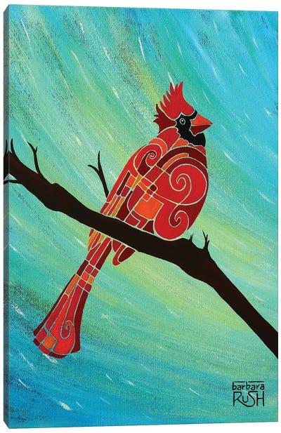 Just Looking Around Cardinal II Canvas Art Print